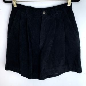 Vintage 90s The Limited High Waisted Suede Shorts